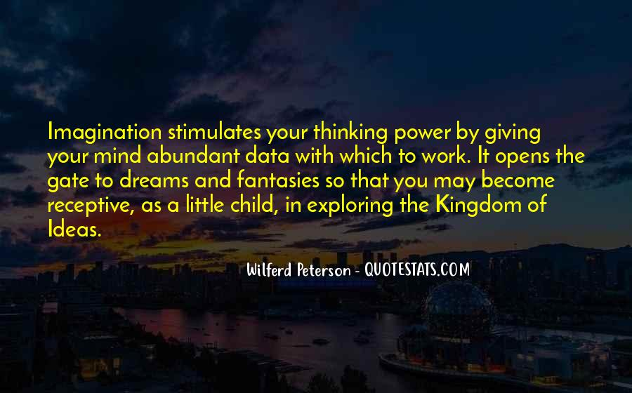Quotes About Child's Imagination #430411