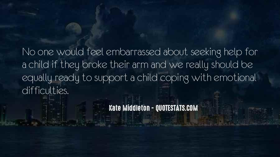 Quotes About Emotional Support #1068555