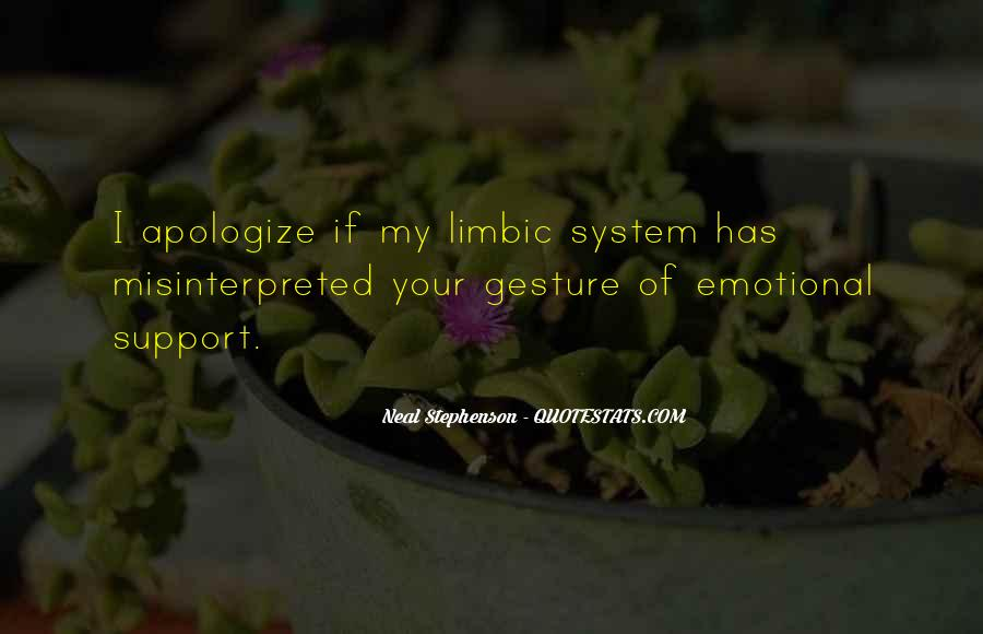 Quotes About Emotional Support #1768500