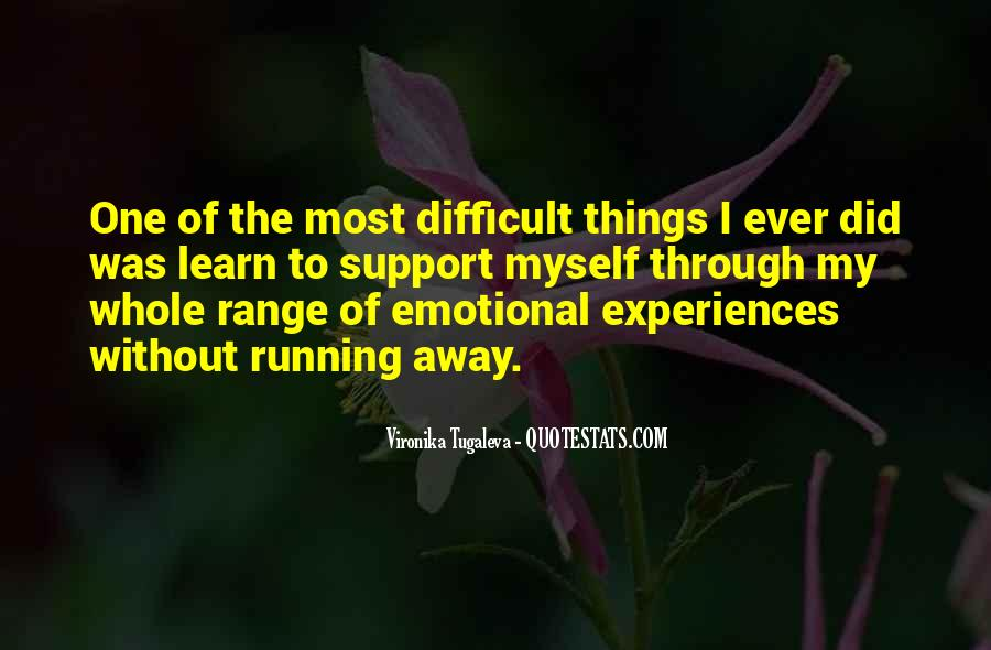 Quotes About Emotional Support #1774994