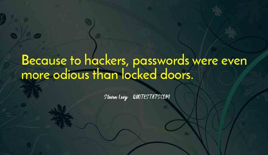 Quotes About Hackers #1736681