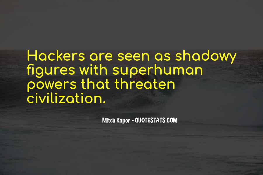 Quotes About Hackers #444683