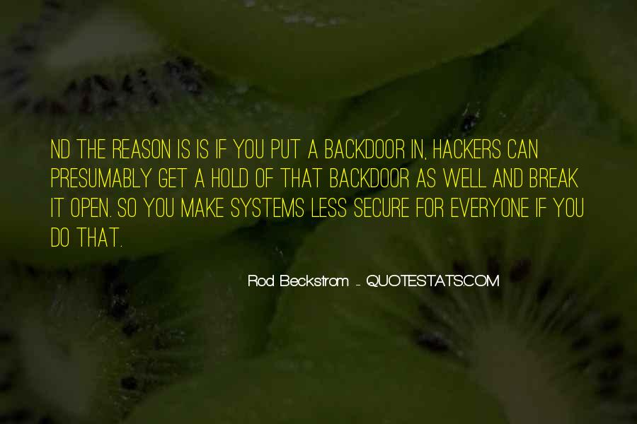 Quotes About Hackers #87257