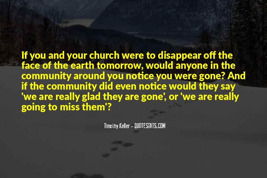Quotes About Community And Church #1074692