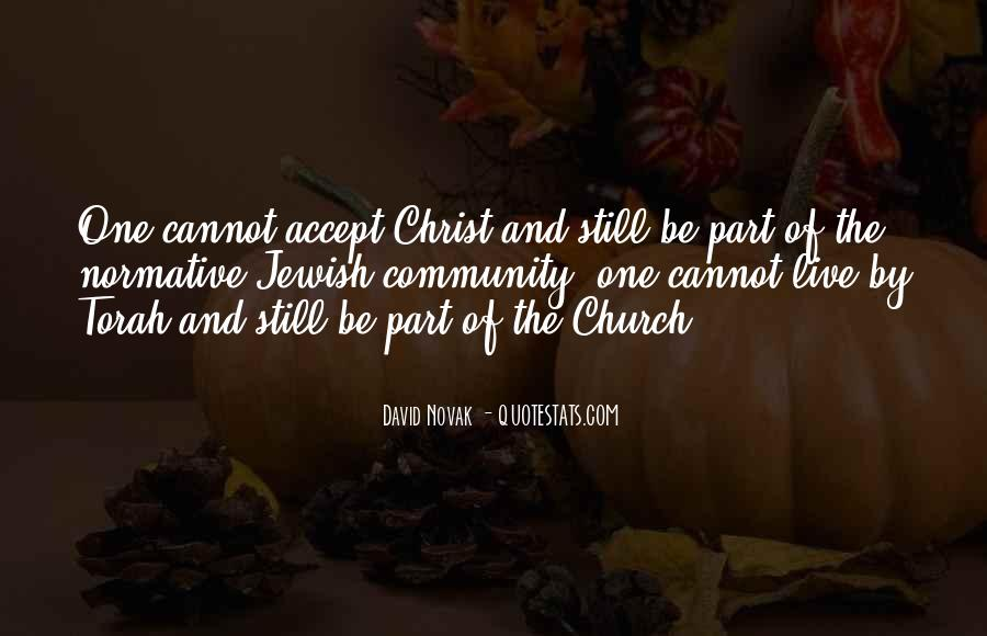 Quotes About Community And Church #109491