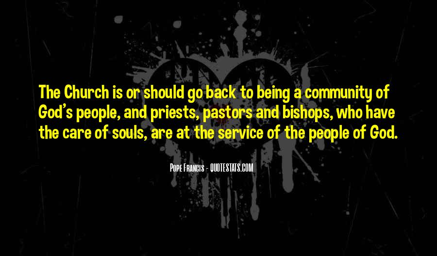 Quotes About Community And Church #109896