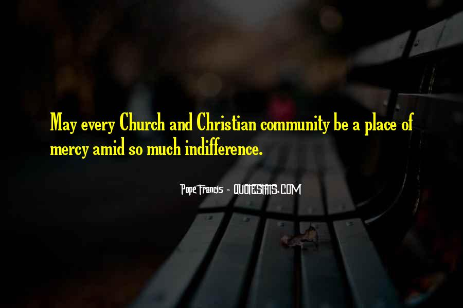 Quotes About Community And Church #1193890
