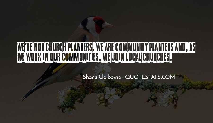 Quotes About Community And Church #1241221