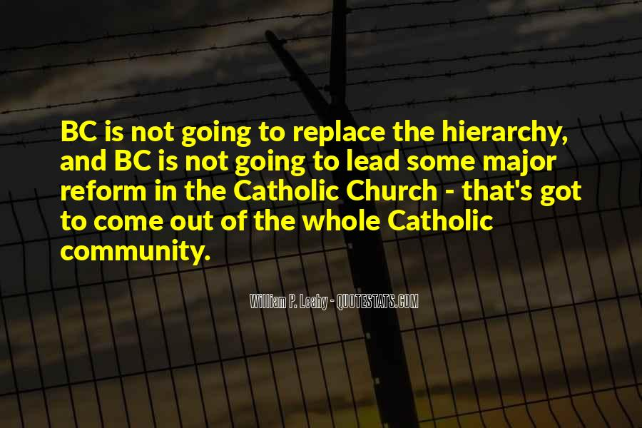 Quotes About Community And Church #1250346