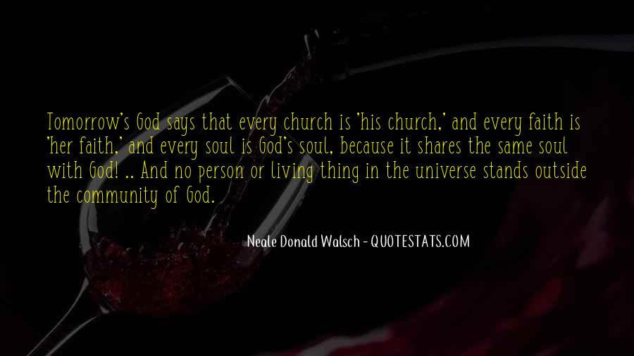 Quotes About Community And Church #1251516