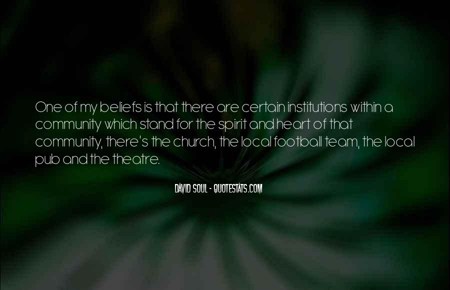 Quotes About Community And Church #1306989