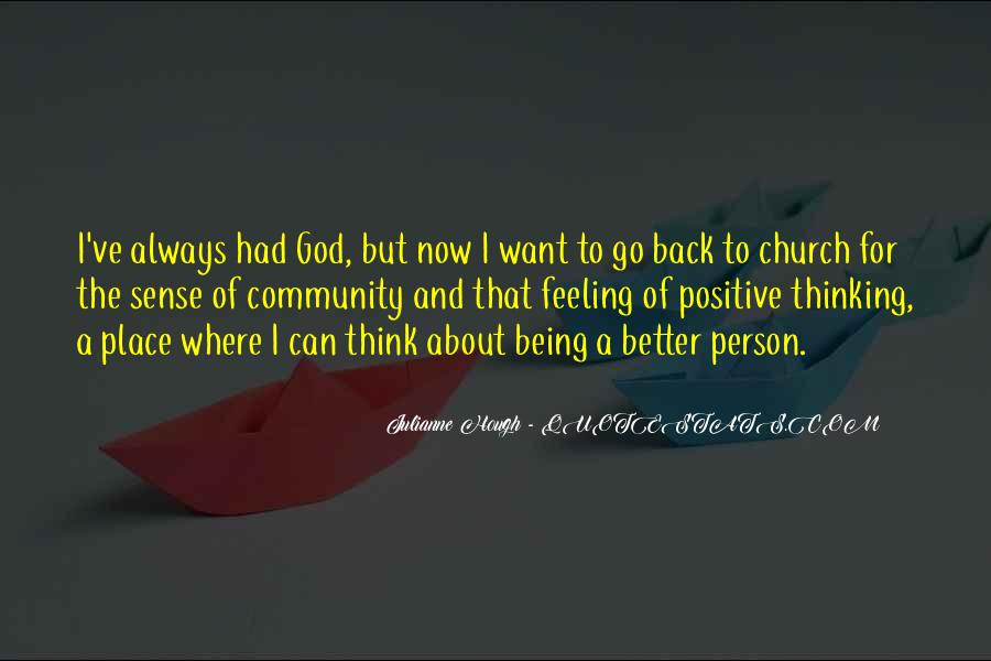 Quotes About Community And Church #1312608