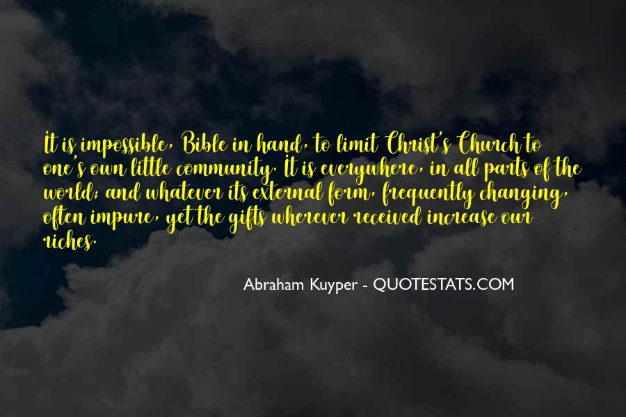 Quotes About Community And Church #1468804