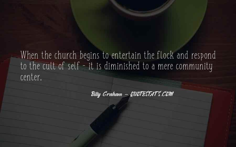 Quotes About Community And Church #1567679