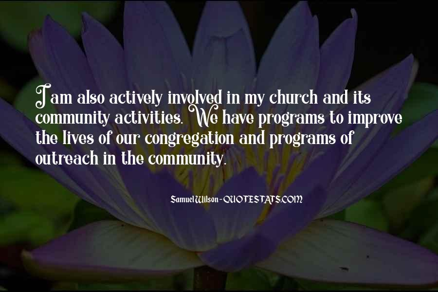 Quotes About Community And Church #1719059