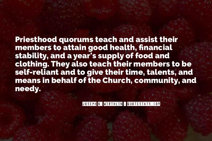 Quotes About Community And Church #1833571