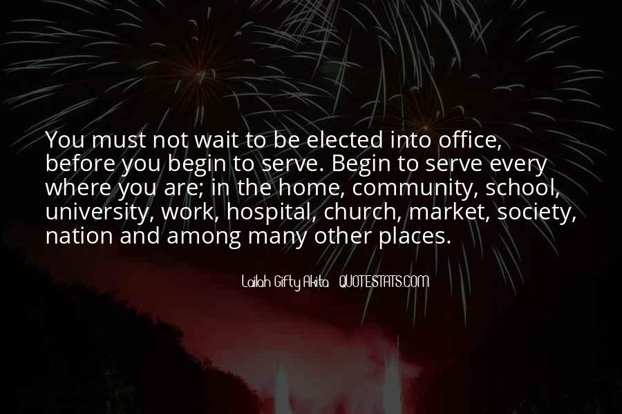 Quotes About Community And Church #1861743