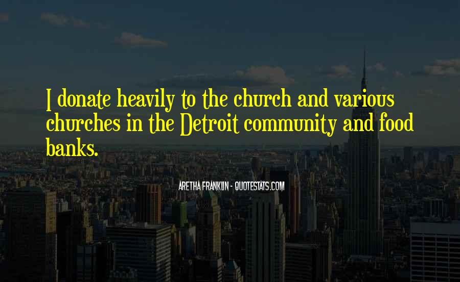 Quotes About Community And Church #1869966