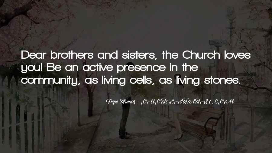 Quotes About Community And Church #200997