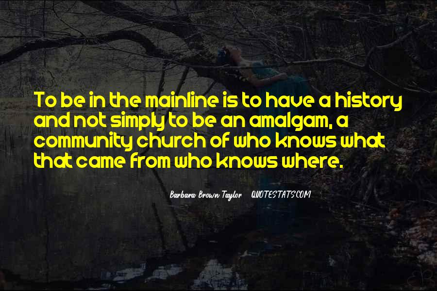Quotes About Community And Church #293646
