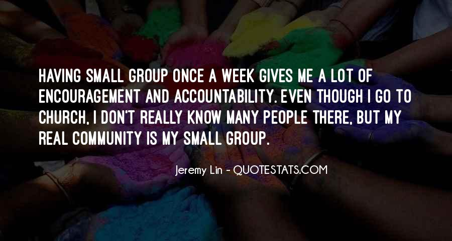 Quotes About Community And Church #358879