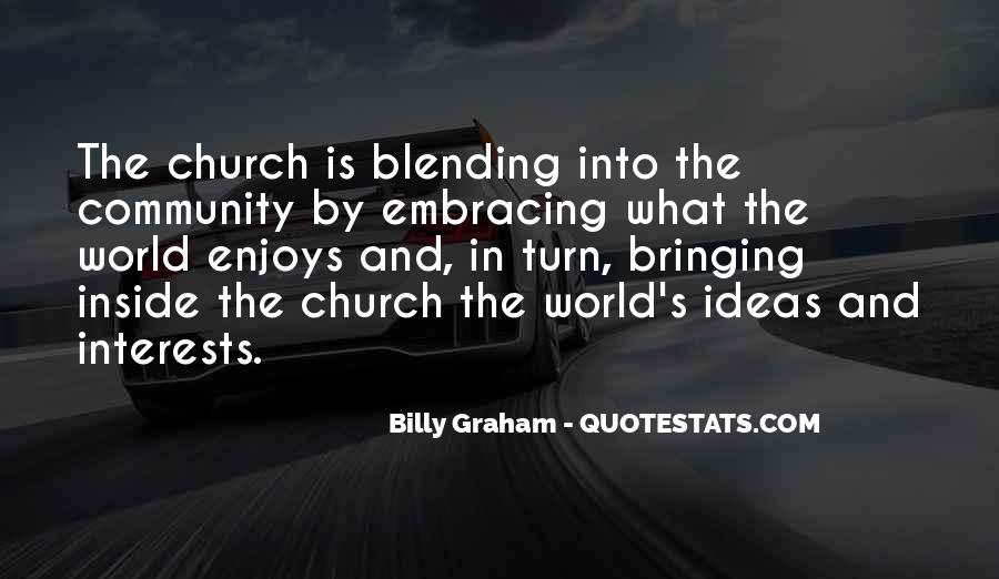 Quotes About Community And Church #394159