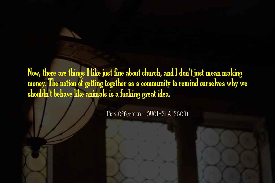 Quotes About Community And Church #51638