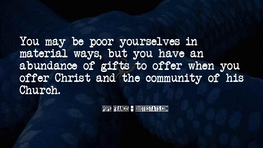 Quotes About Community And Church #535019