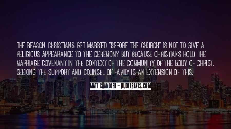 Quotes About Community And Church #604505
