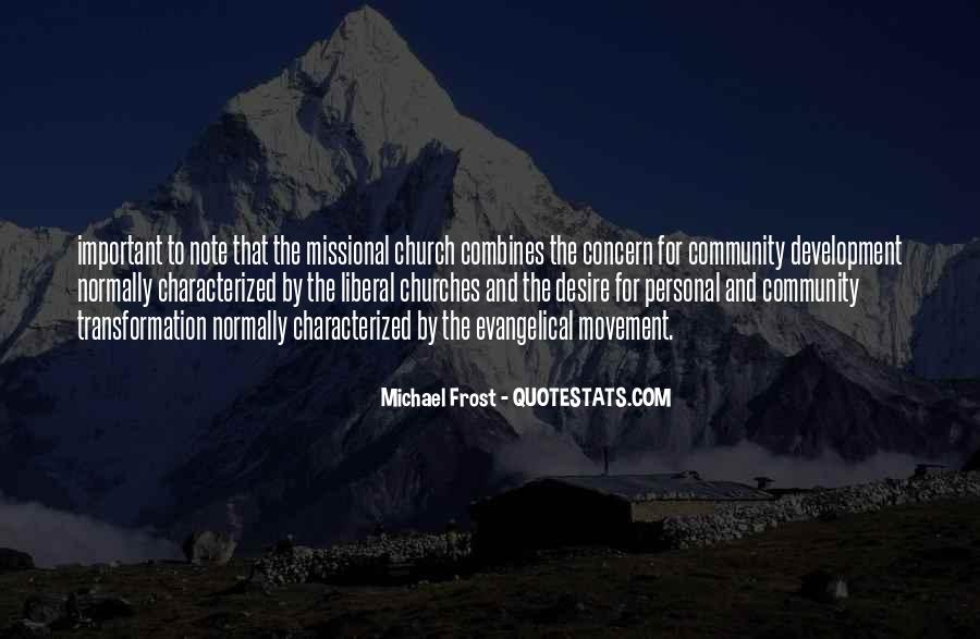 Quotes About Community And Church #611609