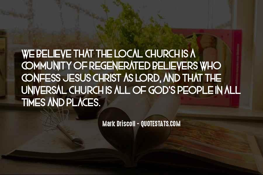 Quotes About Community And Church #64413