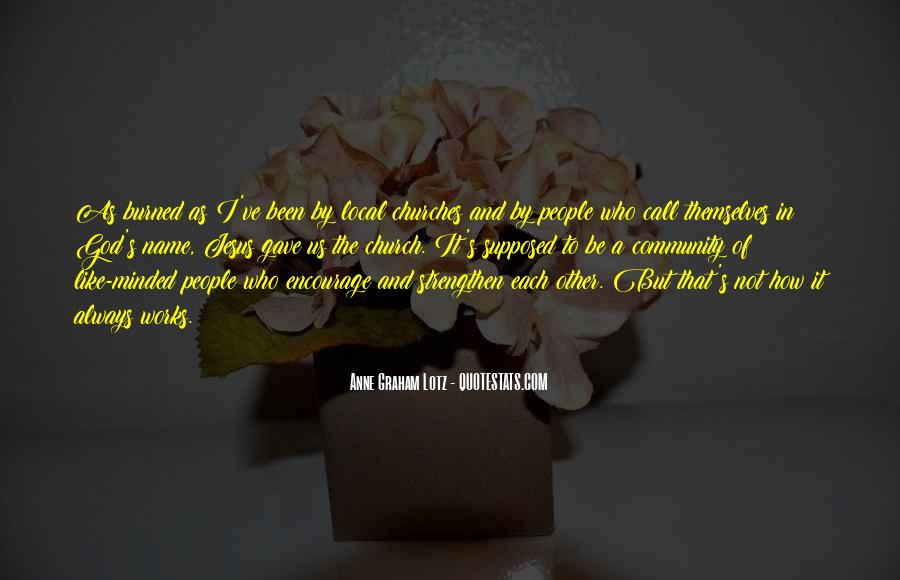 Quotes About Community And Church #765838