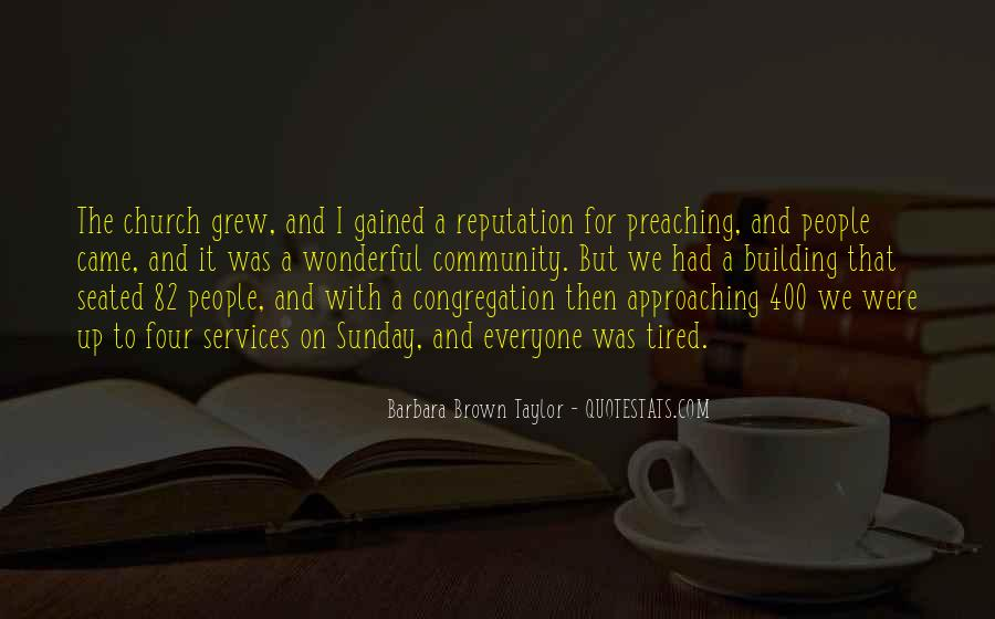 Quotes About Community And Church #816720