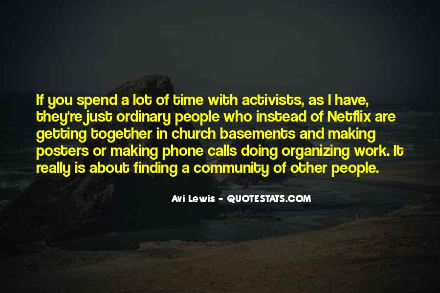 Quotes About Community And Church #868406