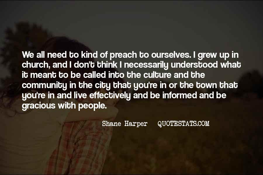 Quotes About Community And Church #894291