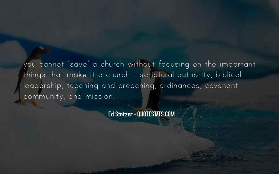 Quotes About Community And Church #978711