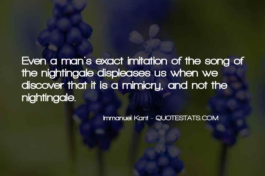 Quotes About Mimicry #208662