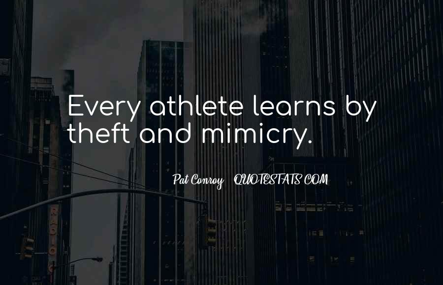 Quotes About Mimicry #884610