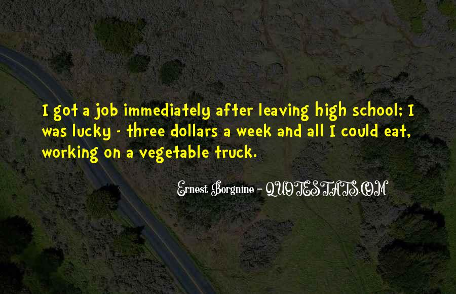 Top 19 Quotes About Leaving High School: Famous Quotes ...