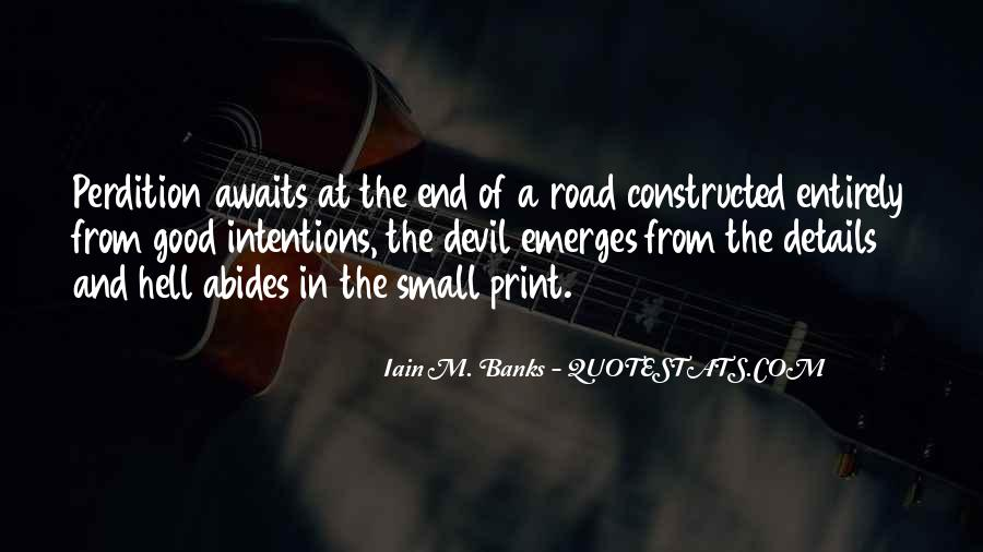 Quotes About The End Of The Road #1026126