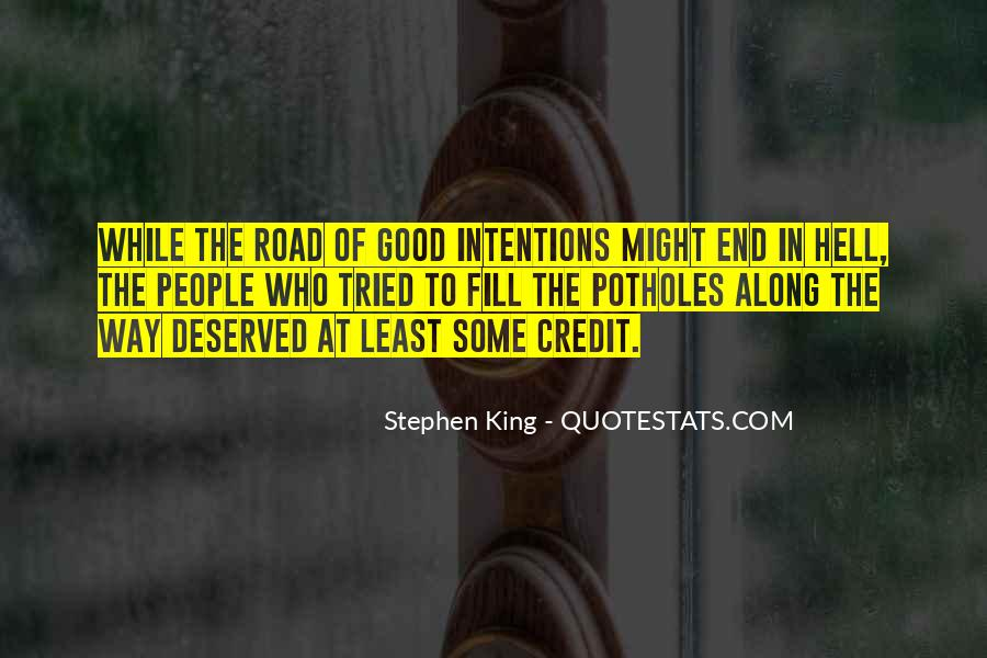 Quotes About The End Of The Road #1071075
