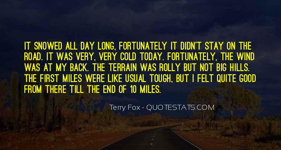 Quotes About The End Of The Road #1148507