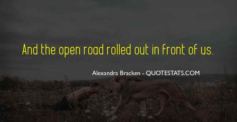 Quotes About The End Of The Road #135063