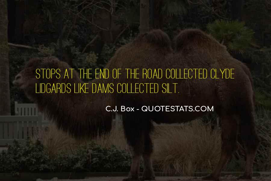 Quotes About The End Of The Road #213199