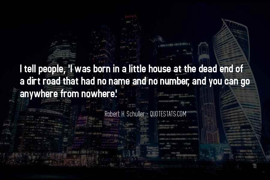 Quotes About The End Of The Road #26296