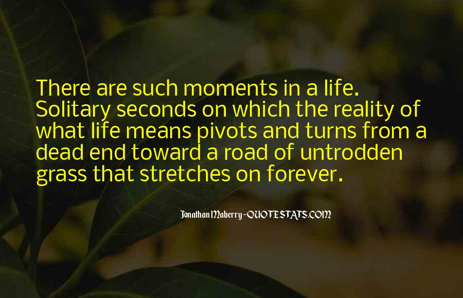 Quotes About The End Of The Road #282415
