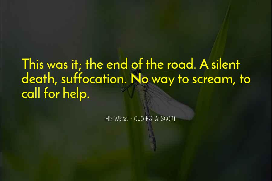 Quotes About The End Of The Road #399941