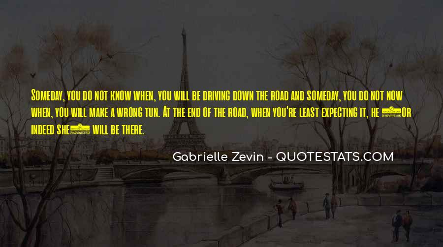 Quotes About The End Of The Road #436663