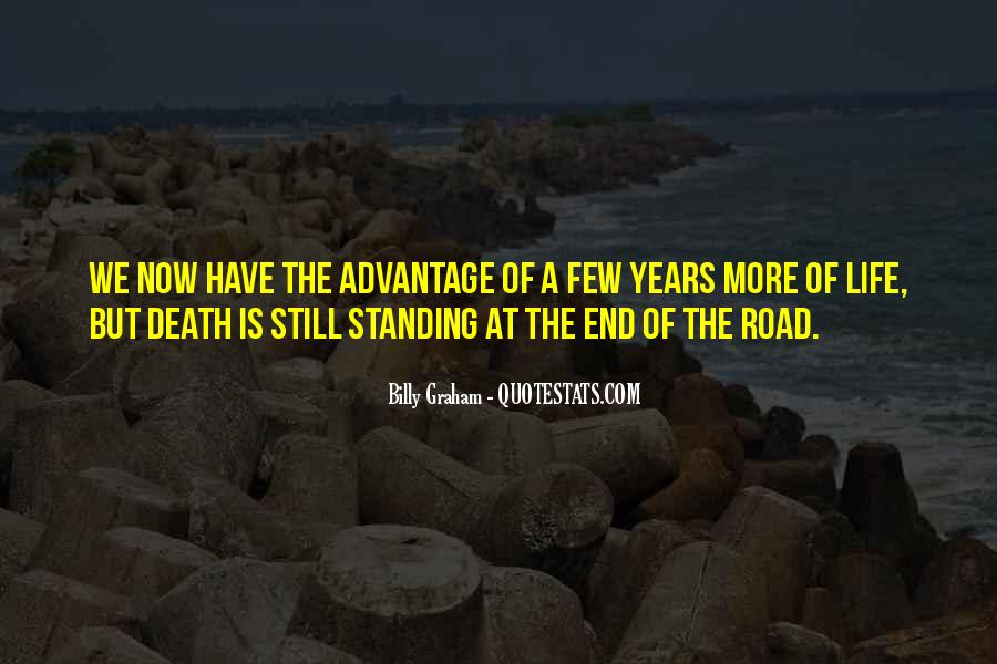 Quotes About The End Of The Road #711403