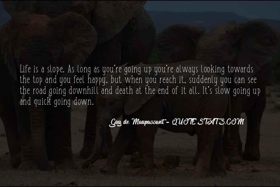 Quotes About The End Of The Road #794454